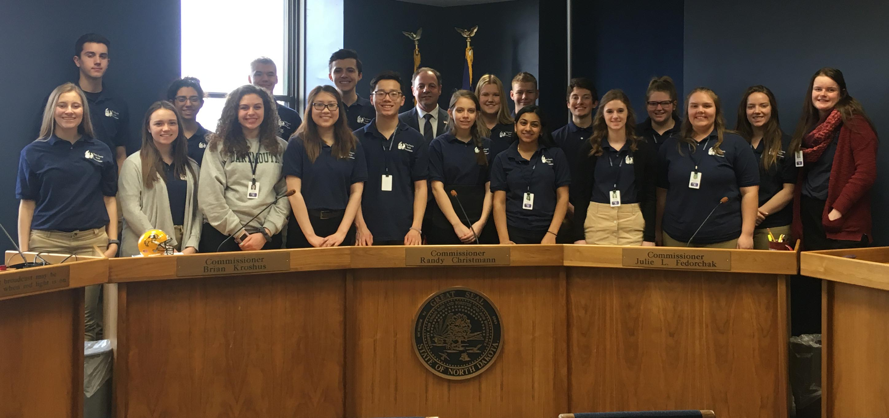 Cass County Youth Commission Visits PSC